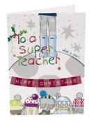 Super Teacher Christmas Card