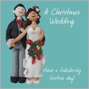 Wedding At Christmas Wedding Card