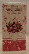 With Love Grandma on Mother's Day. Grandma Mother's Day Card