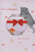 With Love, Daughter Merry Christmas