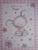 Bargain Giftz - Just For You,Mum Card with White Envelope