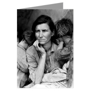 Celebrate Mothers with these 12 Vintage Note Cards of Dorothea Lange's iconic Migrant Mother
