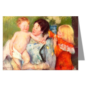 Celebrate Mothers with these 6 Vintage Greeting Cards of Mary Cassatt's Impressionist Painting After The Bath 1901