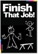Finish That Job Card - Chalks Designer Range - CK016