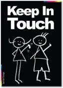 Keep In Touch Card - Chalks Designer Range - CK020