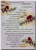 Grave Card - Memories Of A Special Nanna At Christmas - Free Card Holder - Free Card Holder - C5267