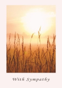 Fields of Light - Beautiful and Tranquil Sympathy Greeting Card