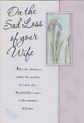On The Sad Loss Of Your Wife