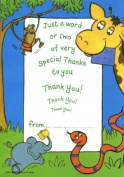 Jungle - 20 Thank You Sheets and Envelopes