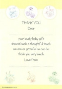 Thank you for the Baby Gift - 20 sheets & envelopes