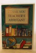 Thank You Teacher Greetings Card. Teacher Thank You Greetings Card