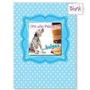 One Who Indulges - Dalmatian Blank Magnet Card