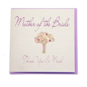 WB14 Mother of the Bride Wedding Card