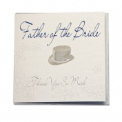 WB21 Father of the Bride Wedding Card