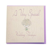 WB32 A Very Special Thank you Wedding Card