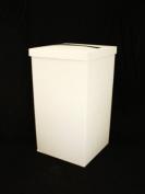 Wedding Post Box Ivory Silk