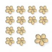 GOLD FLOWERS - FLOWER TABLE DIAMANTES - CONFETTI - 21gm