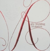 Ruby Wedding Invitations {40th Anniversary/SE} 6 Cards with Envelopes