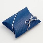 Bustina Wedding Favour Boxes - Navy Blue Scia