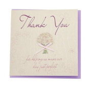 WB17 Thank You Perfect Day Wedding Card