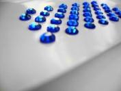 Sapphire (Blue) Rhinestone Self Adhesive Gems SS20 5mm - 39 per sheet