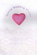 Pink Pineapple Handmade Wedding Day Cards Special Weddings Wishes Card
