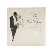 WB154 To the Bride and Groom Wedding Card