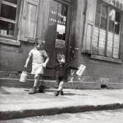 Robert Doisneau Photography Art Print, Rue Marcellin Berthelot Choisy-le-Roi 1945