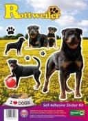Dogs Self Adhesive Sticker Kit - Rottweiler