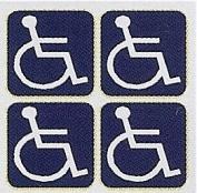 Wheelchair Logo's - Car Sticker - DCS67 - INTERNAL