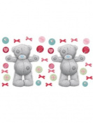 Me To You 'Tatty Teddy' Giant Wall Stickers - Contains 30 Colourful Pieces