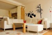 Panda And Bamboo Sticker