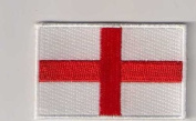 england uk st george flag patch iron on or sew on