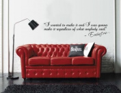 I wanted to Make it Eminem Inspirational Wall Sticker Quote Vinyl Decal Bedroom
