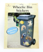 Wheelie Bin Stickers - Sea Life