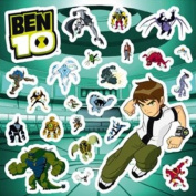 Ben 10 Wall Stickers - Pack S1