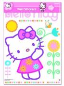 Hello Kitty Flowers XXL Giant Wall Stickers