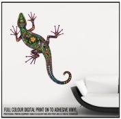 Abstract Lizard Full Colour Wall Sticker Wall Decal Wall Art Vinyl Wall Mural - Regular Size