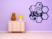 Adorable Bee - Kid's Room Wall Decoration (Large