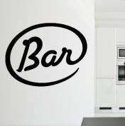 Bar Sign Kitchen Bar Pub Café Wall Sticker Wall Decal Wall Art Vinyl Wall Mural