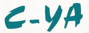 c-ya bumper car, boat, house decal fun stickers in vinyl by wonkydragon