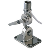 Pacific Aerials LongReach Pro Stainless Steel AM/FM Fold Down Mount