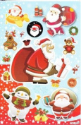 Christmas XMAS Decal Sticker Decal Sheet 27 cm x 18 cm NEW SWEET E86