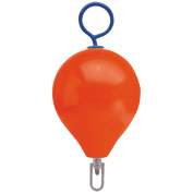 Polyform Mooring Buoy w/Iron 38cm Diameter - Red
