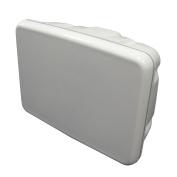 Scanpod Slim Helm Pod - Up to 20cm Display - White