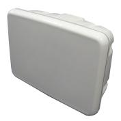 Scanpod Slim Helm Pod - Up to 30cm Display - White