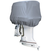 Attwood Silver Coat Polyester Cover f/Outboard Motor Hood up to 25HP