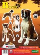 Dogs Self Adhesive Sticker Kit - Bulldog