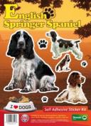 Dogs Self Adhesive Sticker Kit - English Springer Spaniel