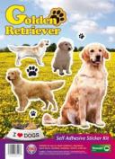 Dogs Self Adhesive Sticker Kit - Golden Retriever